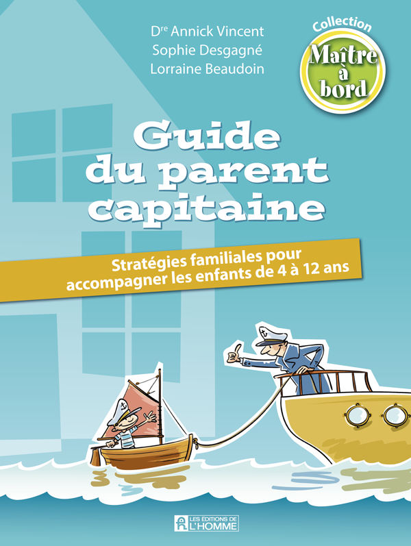 Guide du parent capitaine (couverture du livre)