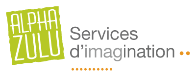 Logo AlphaZULU – Services d'imagination